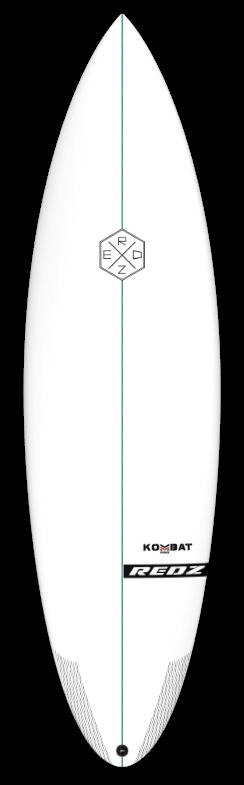 deck-kombat-pro-redz-surfboard